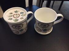 A Pair Of The Leonardo Collection Mug and Coaster Set ( TEA TIME )