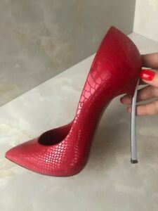 Casadei blade women heels - italian leather 👠 High Heels Shoes size 7