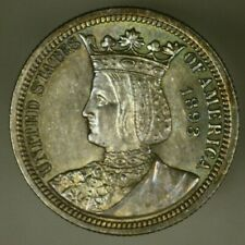 Isabella Ag Commemorative Quarter Dollar 1893  Original with some color  A1615