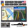 "HD Double 2 Din 7"" GPS Nav In-Dash Stereo Radio Car DVD CD Player BT USB+CAMERA"