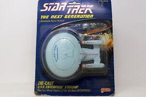 Star Trek The Next Generation Enterprise D Diecast by Galoob 1988