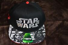 STAR WARS BASEBALL CAP YOUTH NWT