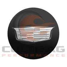 2015-2019 Cadillac ATS GM Black Center Cap Silver Crest 19329257