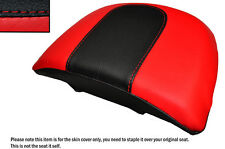 RED & BLACK CUSTOM FITS HARLEY DAVIDSON VROD NIGHT ROD SPECIAL REAR SEAT COVER