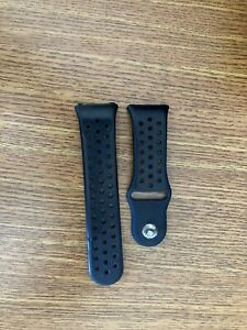 Fitbit Ionic Band - Black and Charging Cord