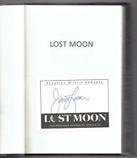 Lost Moon The Perilous Voyage of Apollo 13 by Jim Lovell & Jeffrey Kluger Signed