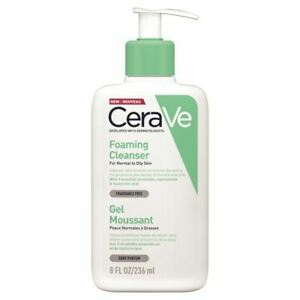 Cerave Foaming Cleanser Facial  and Body  New For Normal To Oily Skyn