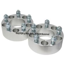 4 Pcs Wheel Spacers Adapters | 5X4.75 To 5X4.75 | 87.1 CB | 14X1.5 | 50MM 2 Inch