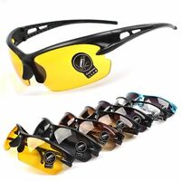 UV400 Mens Womens Sport Glasses Cycling Riding Bike Goggles Eyewear Sunglasses