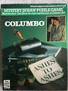 Columbo: Ashes to Ashes - Mystery Jigsaw Puzzle Game  - 550 Piece