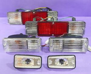 SUZUKI JIMNY SAMURAI SIERRA TAIL LIGHT+SIDE AND FRONT TURN SIGNAL LAMPS CRYSTAL
