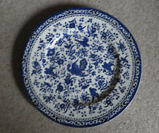 More details for   burleigh  blue peacock dinner/lunch  25cms plate