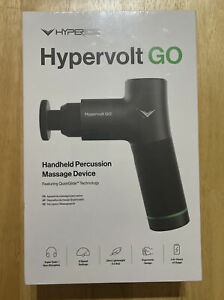 NEW Hyperice - Hypervolt GO Percussion Massage Device Body Massager - Black