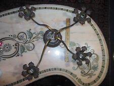 4 ARM ANTIQUE SPIDER CEILING FIXTURE CHANDELIER ART DECO ORNATE MOE BRIDGES 1915