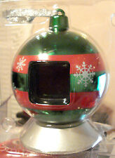 CHRISTMAS GREEN VU-ME DIGITAL LCD PHOTO ORNAMENT DISPLAY UP TO 70 PHOTOS