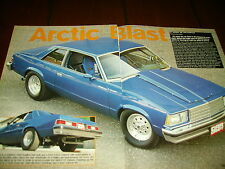 1979 CHEVROLET MALIBU 10 SEC HOT ROD  ***ORIGINAL 2001 ARTICLE***