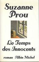 Livre le temps des innocents Suzanne Prou book