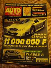 Auto Hebdo Essai Mercedes CLK - GTR