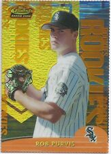 Rob Purvis WHITE SOX 2000 Finest GOLD REFRACTOR /100