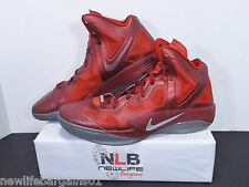 2012 Nike Zoom Hyperfuse Supreme Team Red/Slv 469757 600 Men's Size 11.5