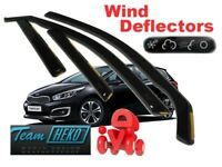 Wind Deflectors MITSUBISHI OUTLANDER III 5-doors 2012-onwards 2-pc HEKO Tinted