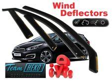 KIA CEED II  05/2012 -  5.doors ESTATE / WAGON Wind deflectors  4.pc HEKO  20160