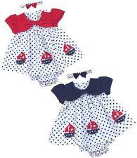 Vestidos con algodón para niñas de 0 a 24 meses