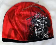 Beanie Death Rider Grim Reaper Sublimated Design Knit Hat Cap #1022
