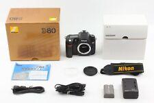 �Near Mint】 Nikon D D80 10.2Mp Digital Slr Camera Body 4,618 shutter from Japan