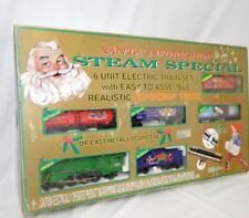 K-Line K-1114 Christmas Set Steam Engine Santa's Workshop 1st Ed 12 Days cmpelet