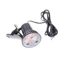 Flexible Super Bright 3 LED Clip On Spot USB Light Lamp For Laptop PC HGUK