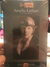 Amelia Earhart: Queen Of The Air Biography Audiobooks Audio Cassette
