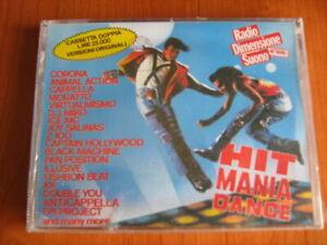 DOPPIA MUSICASSETTA HIT MANIA DANCE 1994 SIGILLATA RARA MC COMPILATION 94 NO CD