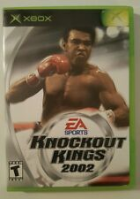 Knockout Kings 2002 (Xbox 2002) COMPLETE & TESTED