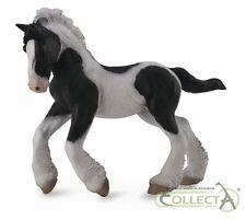 Gypsy Fohlen schwarz-weiß 11 cm Pferdewelt Collecta 88770          NEUHEIT 2016
