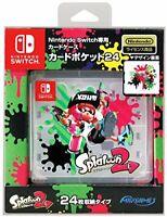 Games Card Pocket 24 Splatoon 2 Nintendo Switch Card Case Japan