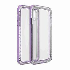 Life Proof NËXT Case for iPhone XR (Clear/Lavender)
