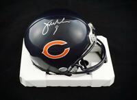 Jim McMahon Chicago Bears Signed Autographed Mini Helmet JSA COA 1985 Bears QB