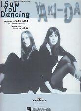 I Saw You Dancing - Yaki-Da - 1994 Sheet Music