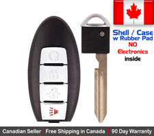 1x Replacement Keyless Entry Remote Key Fob SHELL Engine Start For Nissan Rogue