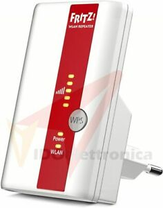 AVM FRITZ!Repeater 310 International, Range Extender Universale Wireless N 300 M