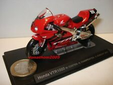 HONDA MOTORCYCLE VTR 1000 N° 111 COSTES - CHARPENTIER - GIMBERT - 2000 au 1/24°