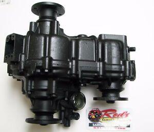 Suzuki Samurai transfer case, rebuilt, stock gears, 1986-1989 12mm small flange