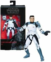 Star Wars The Clone Wars Black Series Clone Commander Wolffe Action Figure [6 In