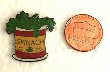 POPEYE SPINACH CAN with RED LABEL Lapel Pin