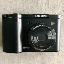 Samsung Digimax NV10 10.1MP Digital Camera In Black *Great Condition*