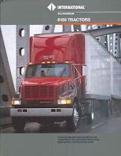 Truck Brochure - International - 8100 - Tractor (T1853)