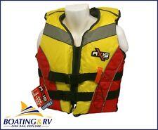 Foam Life Jacket Level 100 60 - 70kg Medium Adult PFD Lifejacket Flotation Vest