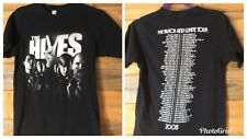 The Hives 2008 The Black And White World Tour Shirt Adult Small