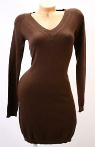 Victoria's Secret Moda Winter Knit Long Sleeve V Neck Sweater Dress